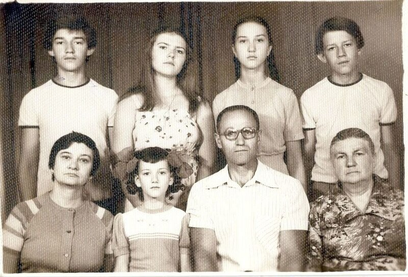 Моя семья в Караганде