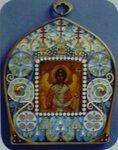 """Иконка """"Ангел-хранитель"""", принадлежавшая Марине Бетулинской"""
