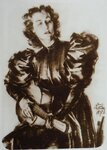 Портрет Анны Марли работы художника Бориса Пастухова