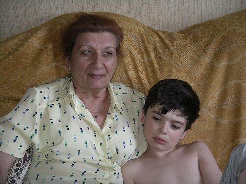 Порно бабушка ебется с внуком