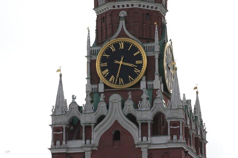 Часы на Спасской башни