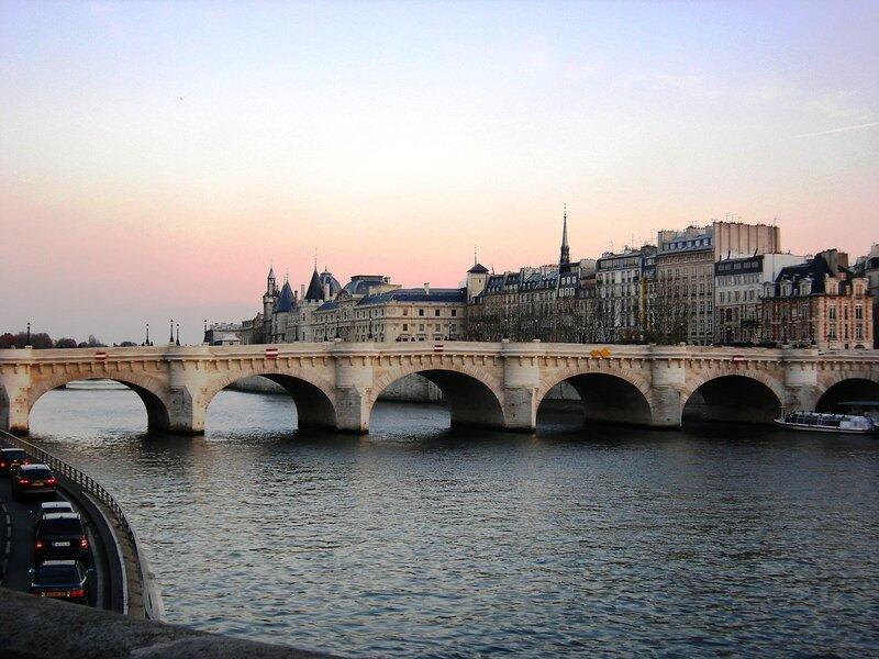 Новый Мост. Вечер