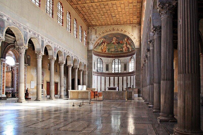 Общий вид церкви Святой Сабины