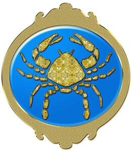 Рак - знак зодиака, рисунок, вариант № 2, Апарышев.