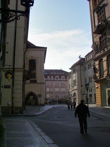 Улицы Праги, (Železná)