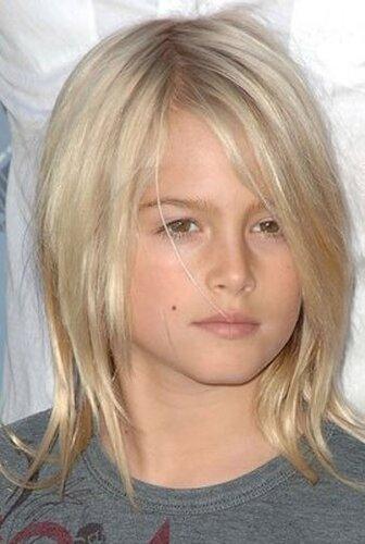 Картинки мальчика с длинными волосами