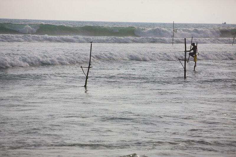 Рыбалка на Индийском окане.