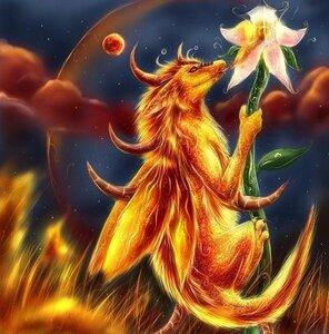 Цветок дракон