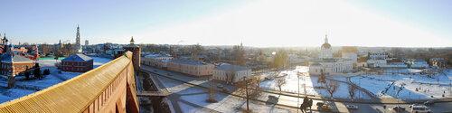 Коломна - Панорама города
