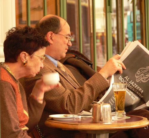 """Парижане.Кафе """"Rostand"""""""