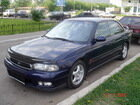Елена покорена Subaru Legacy
