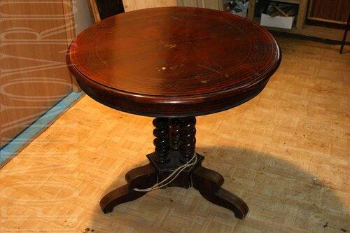 Реставрация раздвижного круглого стола своими руками 85