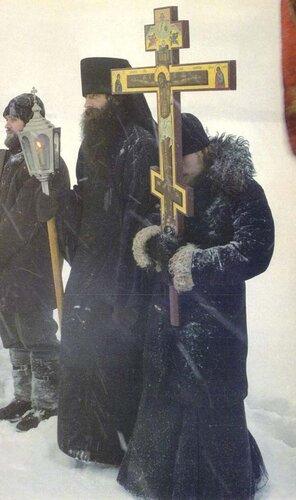 Крестный ход. Соловецкий монастырь.