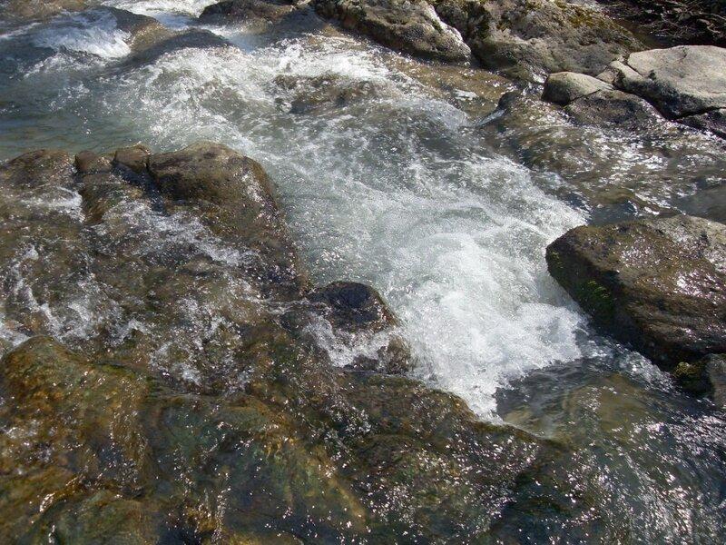 Март 2010, горы, Кавказ, река Каверзе, Горячий Ключ, природа, пейзаж