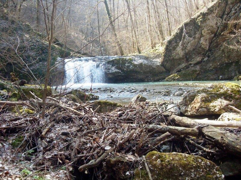 Водопад на Каверзе...