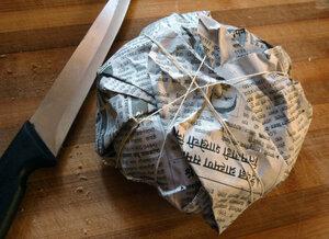 Упаковка из лавки
