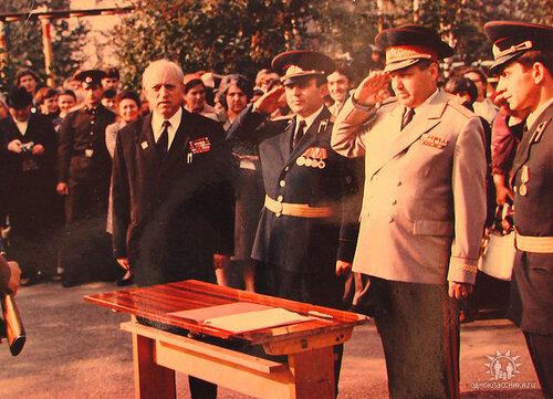 Генерал-майор Звенигородский Г.В.