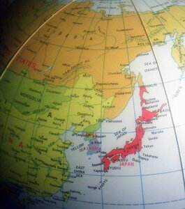 Этот надувной глобус можно назвать мечтой японского реваншиста