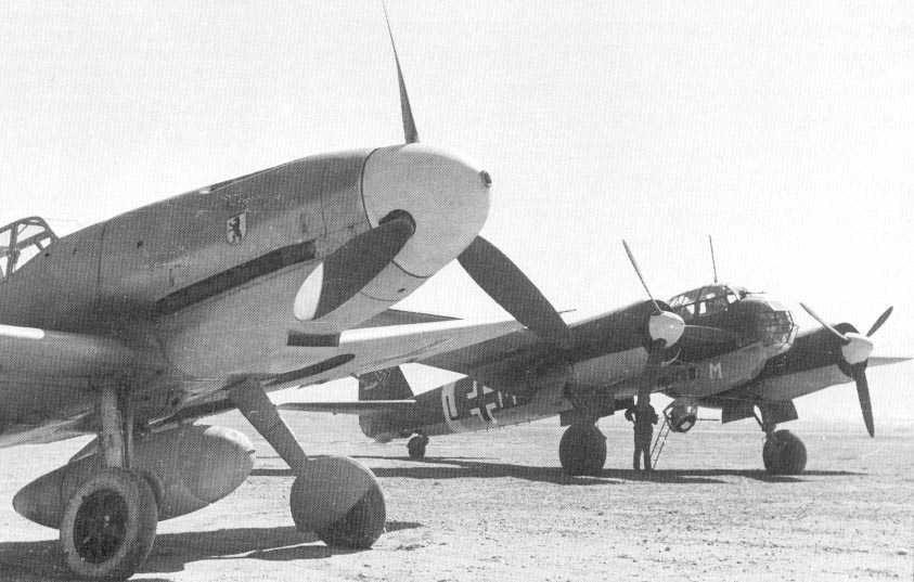 Bf-109 / Ju-88