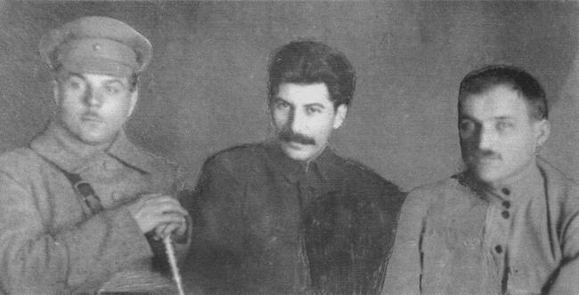 Ворошилов, Джугашвили, Сергеев.