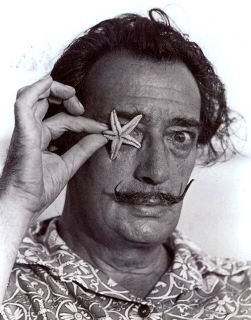 редкие фото,Salvador Dali