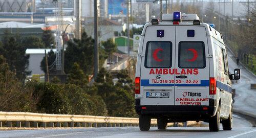 В Турции перевернулся туристический автобус, есть погибшие