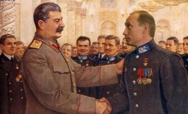 Российская ЦИК разрешила агитировать голосом Путина и физиономией Сталина
