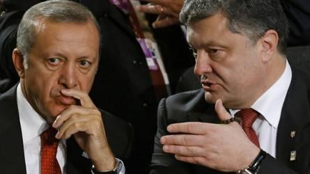 Телефонный разговор президентов: Эрдоган заверил Порошенко в поддержке крымских татар и обещал не признавать аннексию Крыма