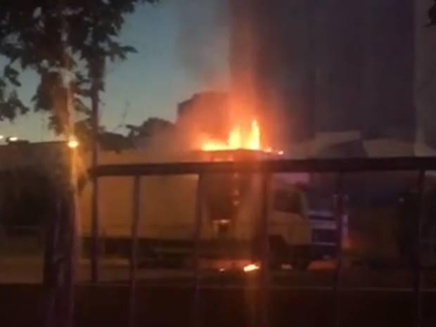 Дурной знак: Во время концерта накануне выборов в Госдуму в оккупированном Крыму произошел пожар (видео)