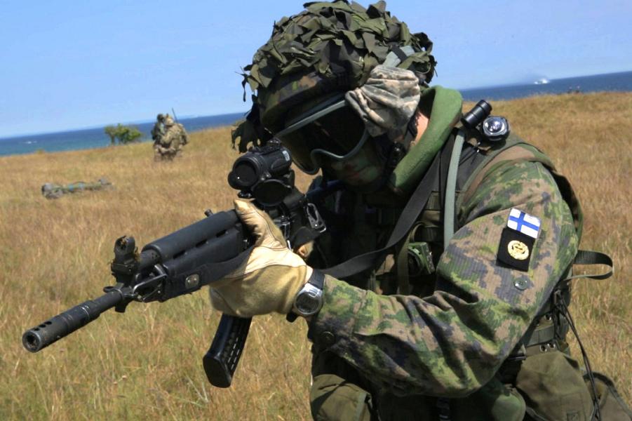 Учения НАТО и Финляндии июнь 2015.png