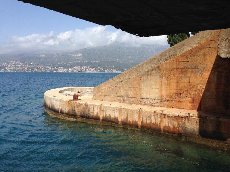 Югославская база подводных лодок, Черногория