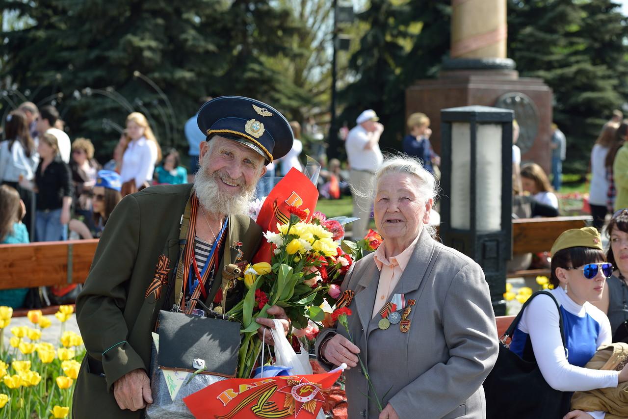 День Победы Парад Ветераны Фото