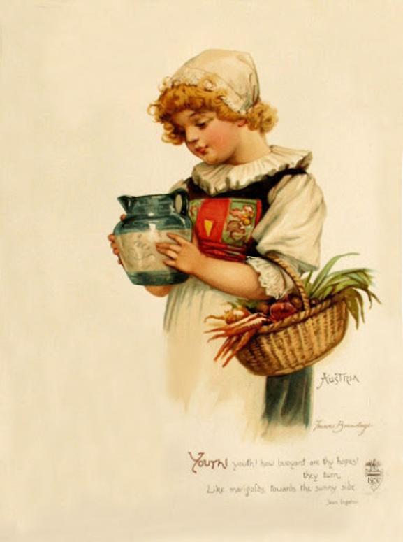 Старинные открытки кофе