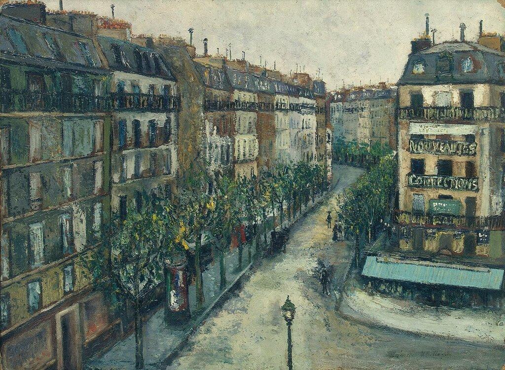 Custine Street at Monmartre, 1909.jpg