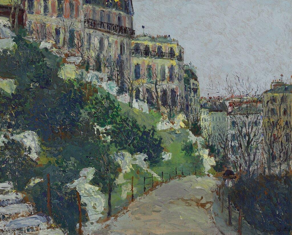 Saint-Pierre Square at Montmartre, 1908.jpg