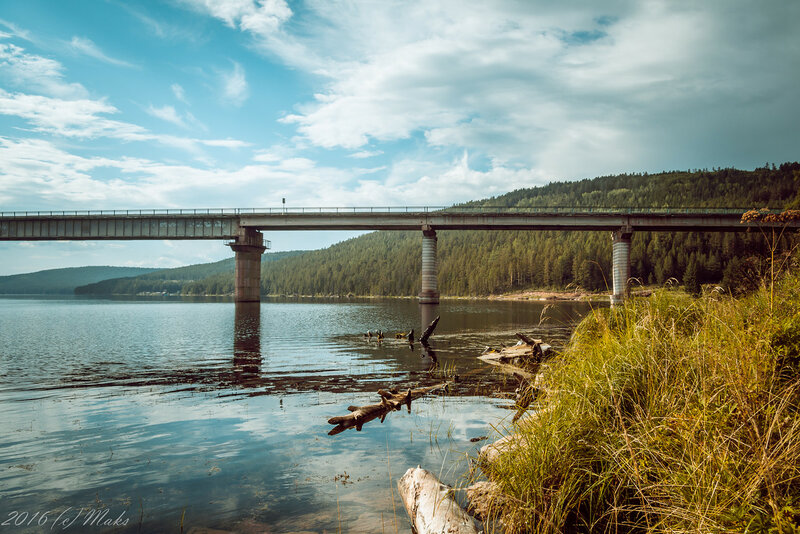 Мост через реку Илим