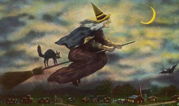ведьма и черная кошка