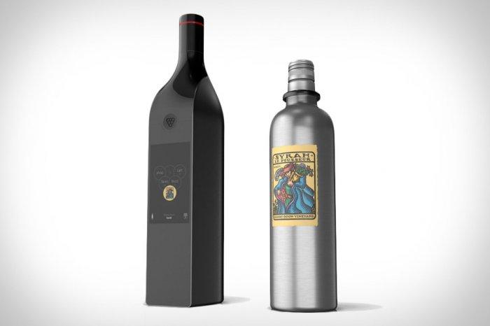 Умное вино в энциклопедической бутылке