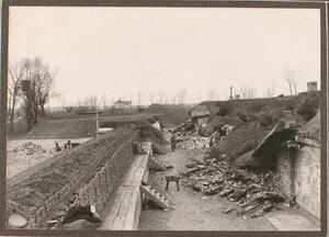 Вид разрушенного форта группы Гурко.