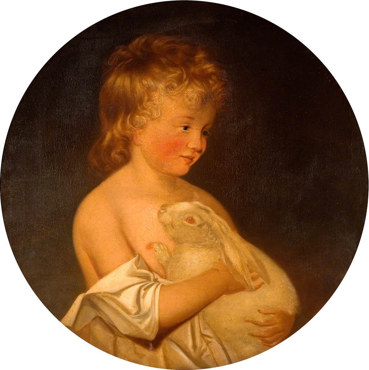Boy with Rabbit