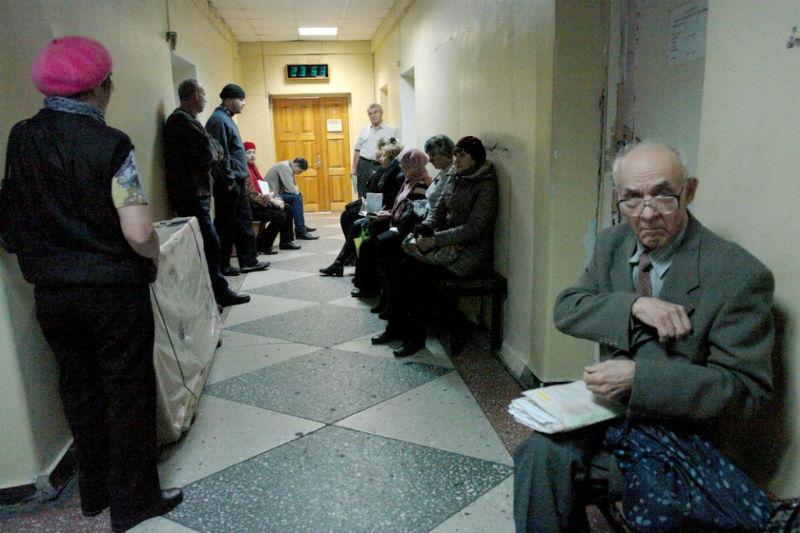 Старый новосибирец скончался вочереди в19-ю больницу Новосибирска