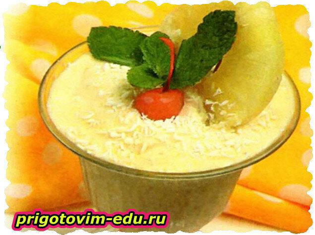 Кокосово-ананасный шербет