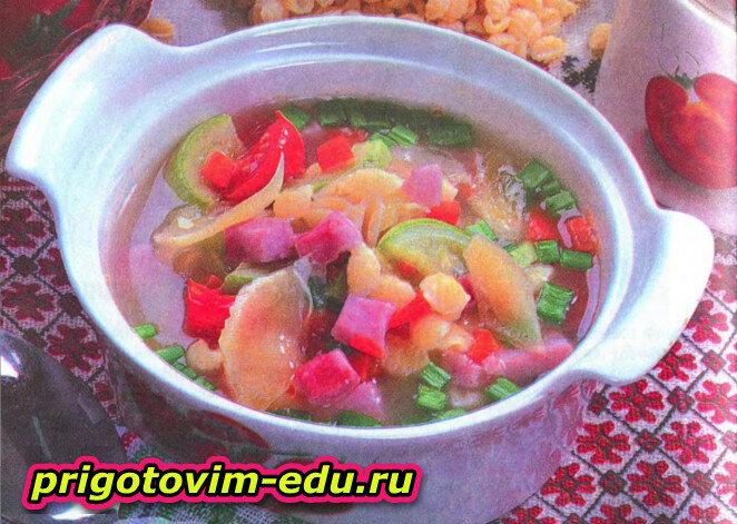 Итальянский паровой суп