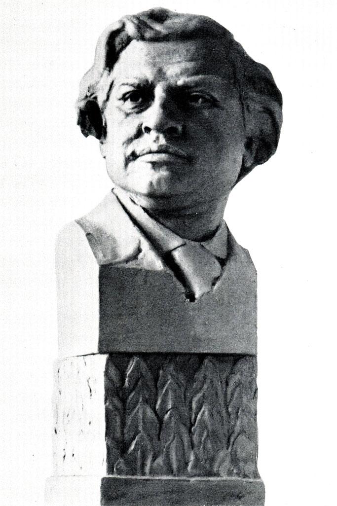 И. А. Мельников. Бюст. 1915 г.