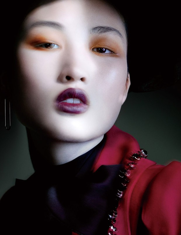 Jing Wen for Vogue China by Benjamin Lennox