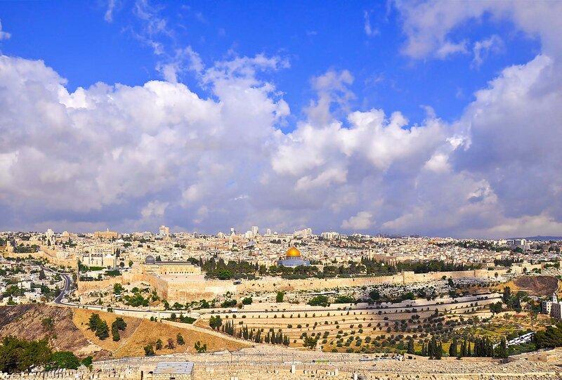 Пасхальный Иерусалим