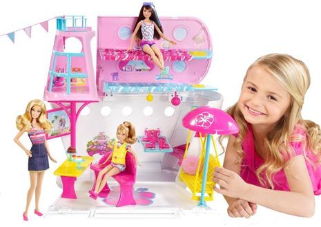 Розовый цвет применим для оформления игрушек для девочек