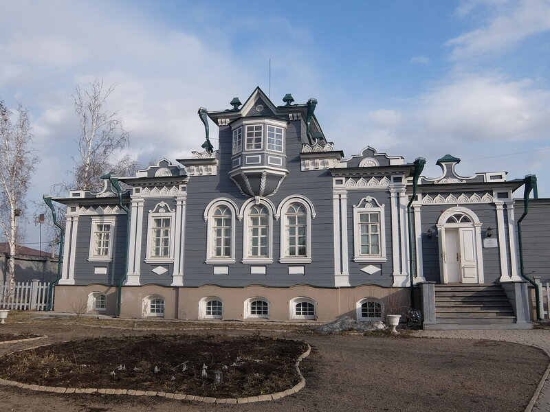 Иркутск - Усадьба Трубецких