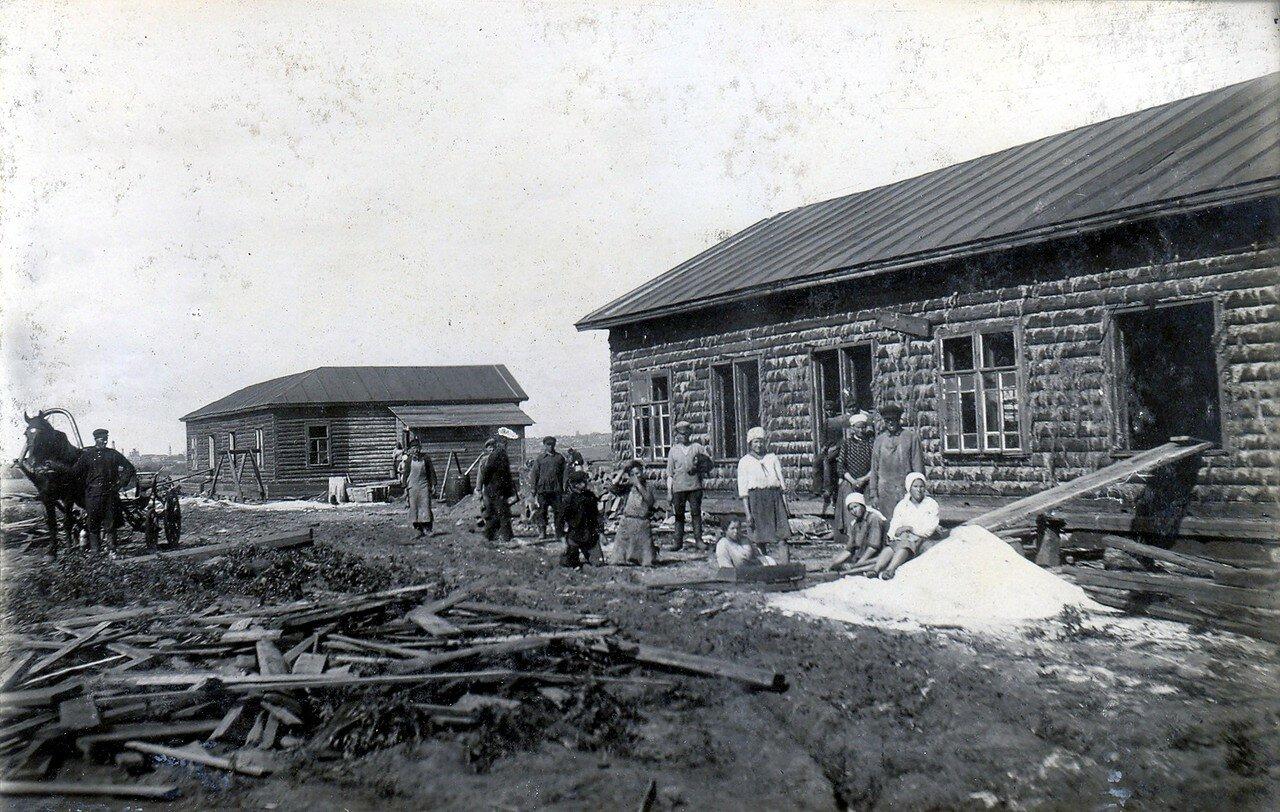 1920-е. Станция Коготково. Строительство домов №213-214