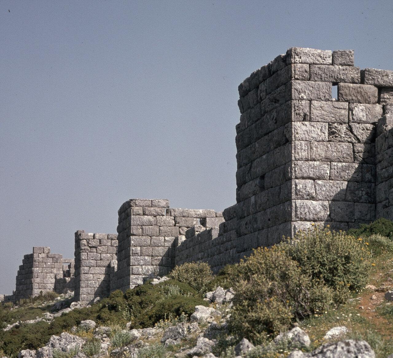 Элевтеры. Северная башня, конец IV в. до н.э.